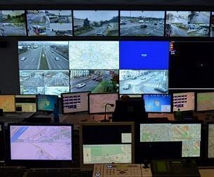Leitstelle der Verkehrspolizei Prag